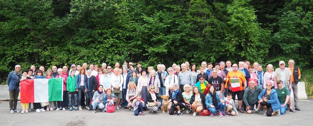 Una delegazione castellana a Abtsgmünd per festeggiare i 13 anni di amicizia