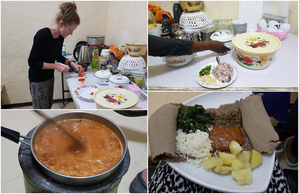 Lekcja gotowania Mini Lalibela Guesthouse