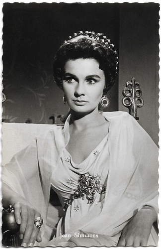 Jean Simmons in Spartacus (1960)