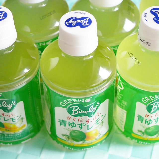 アサヒ飲料 グリーンバヤリース 青ゆずレモン