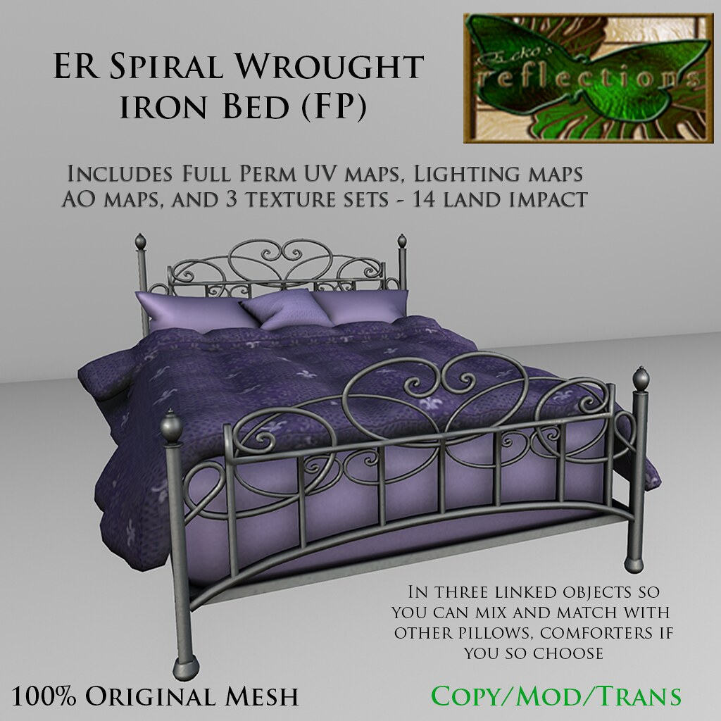 Ecko's Reflections Spiral Bed (Full Perm)