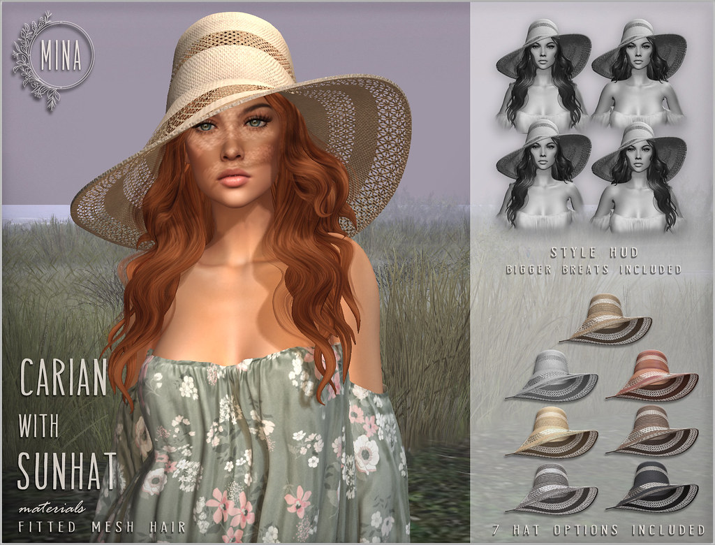 MINA Hair – Carian with Sunhat