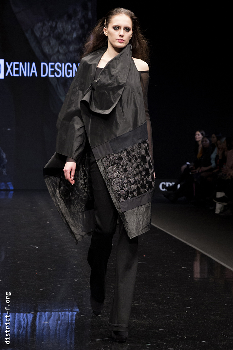DISTRICT F — Collection Première Moscow AW19 — Xenia Design AW19 32