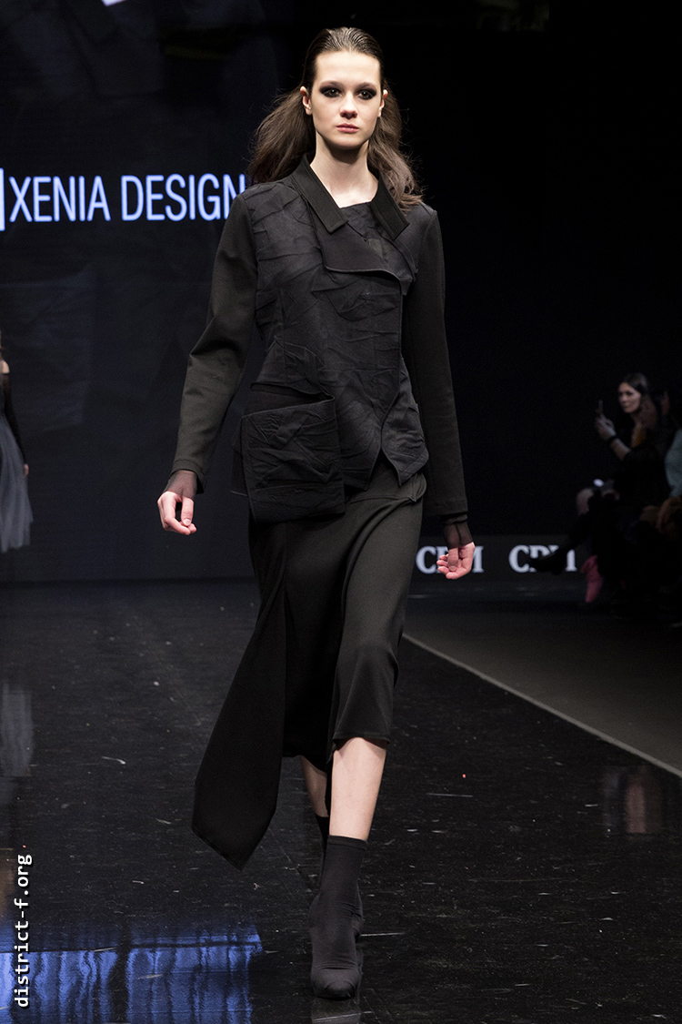 DISTRICT F — Collection Première Moscow AW19 — Xenia Design AW19 26