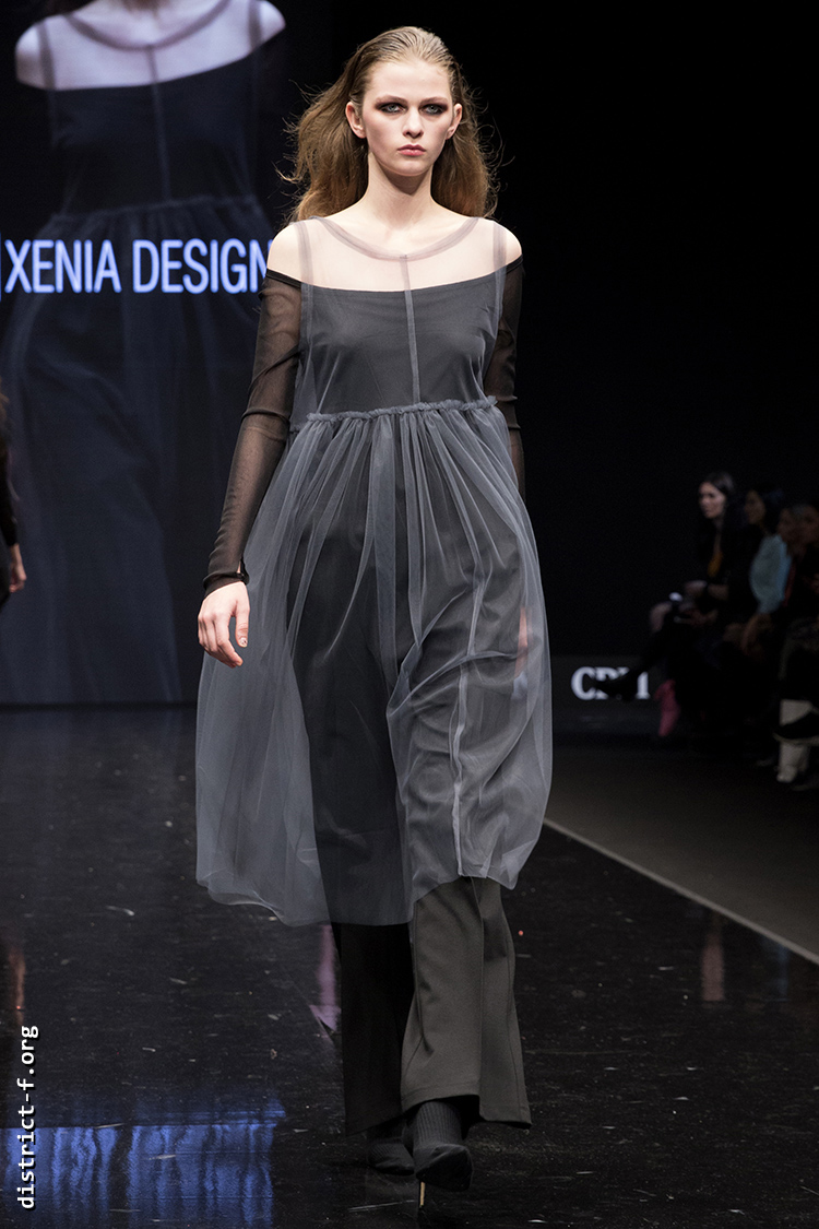 DISTRICT F — Collection Première Moscow AW19 — Xenia Design AW19 24