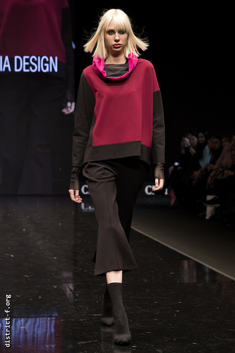 DISTRICT F — Collection Première Moscow AW19 — Xenia Design AW19 15