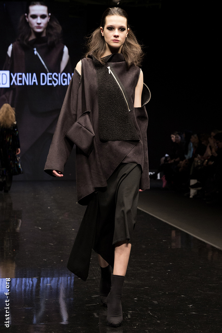 DISTRICT F — Collection Première Moscow AW19 — Xenia Design AW19 11