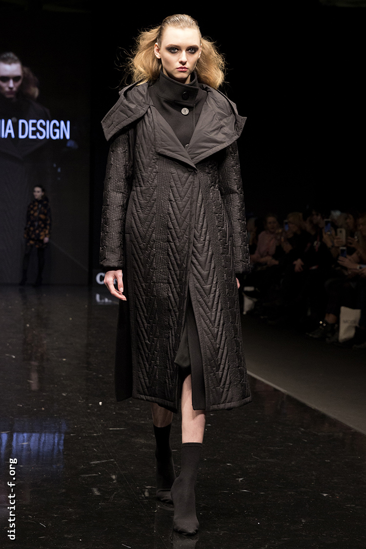 DISTRICT F — Collection Première Moscow AW19 — Xenia Design AW19 3