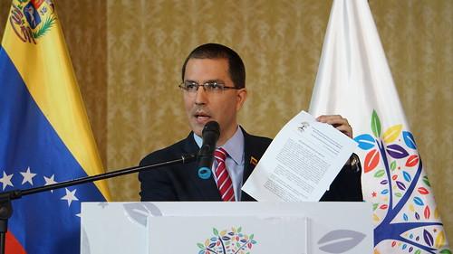 Canciller Arreaza: reunión Ministerial del Buró de Coordinación del MNOAL fue un éxito a pesar de las presiones de EE. UU