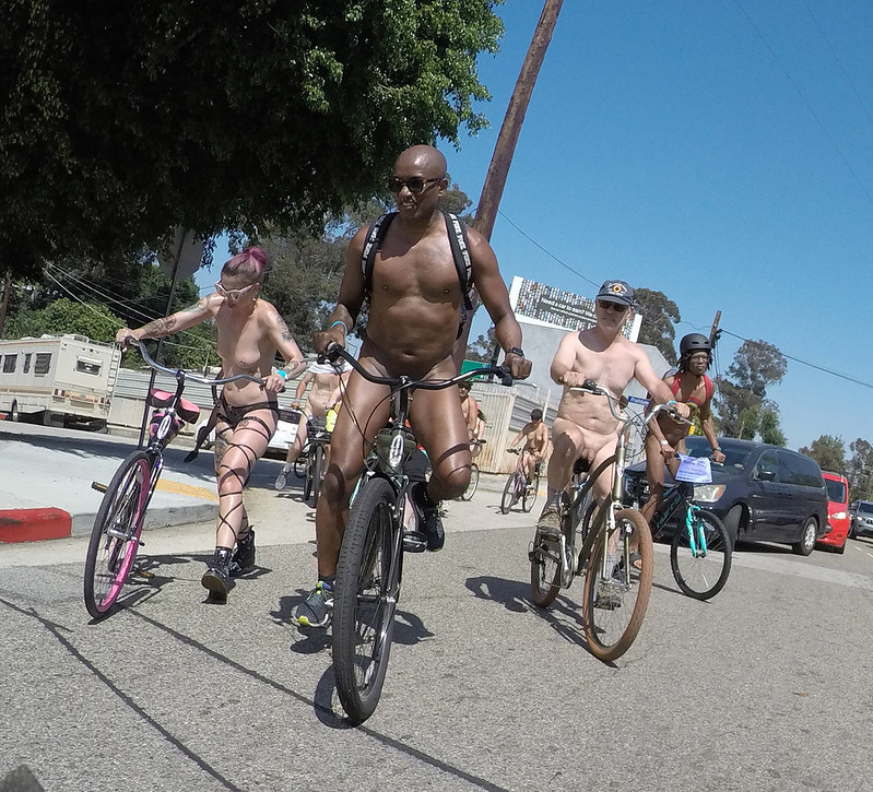 LA World Naked Bike Ride 2019 (153452)