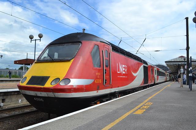 London North Eastern Railway HST 43316