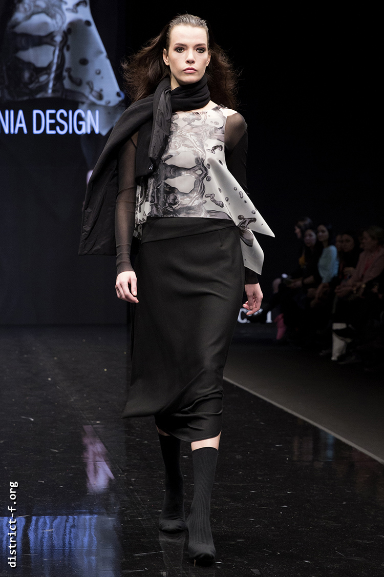 DISTRICT F — Collection Première Moscow AW19 — Xenia Design AW19 21