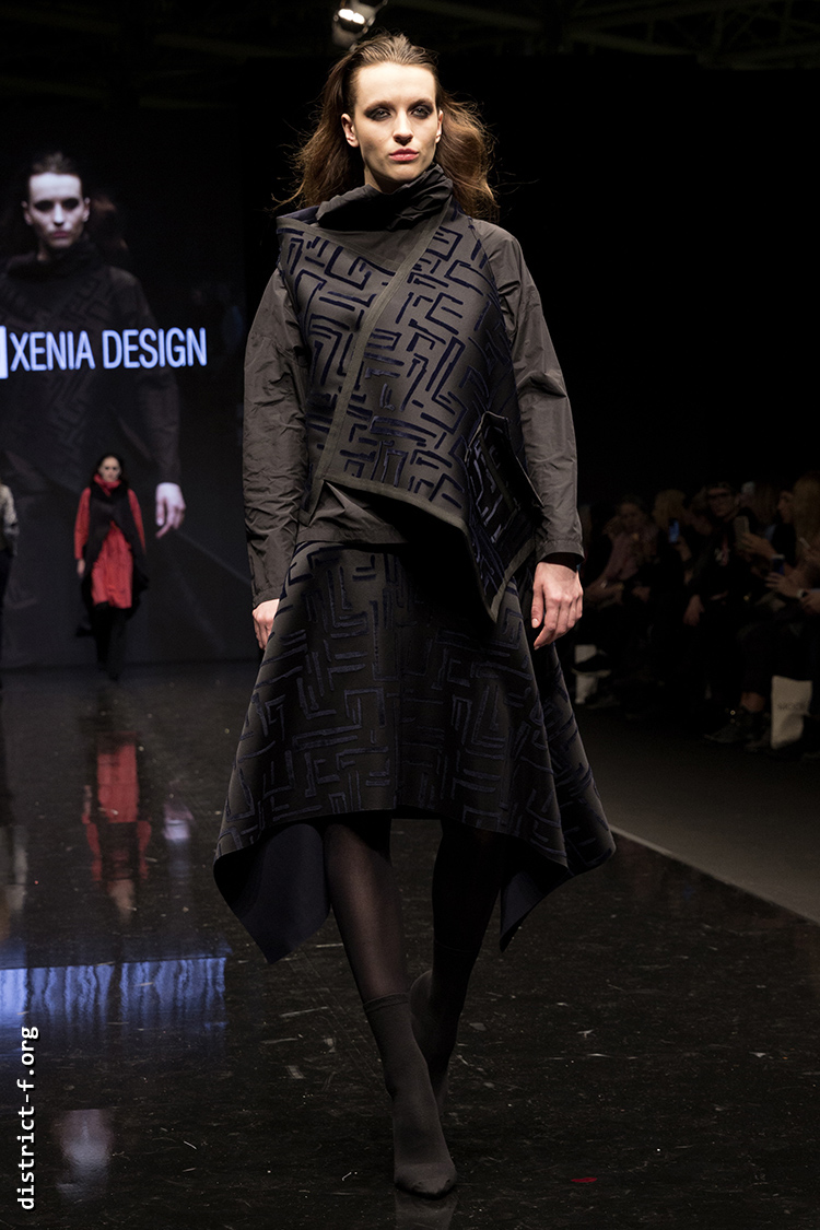 DISTRICT F — Collection Première Moscow AW19 — Xenia Design AW19 19