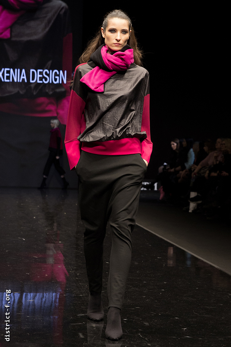 DISTRICT F — Collection Première Moscow AW19 — Xenia Design AW19 13