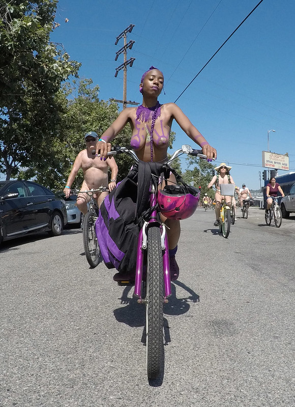 LA World Naked Bike Ride 2019 (153737)