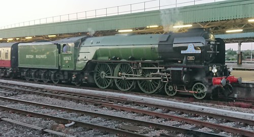 Tornado takes a blow after hauling The Pembroke Coast Express back to Bristol Temple Meads