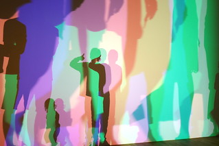 'Your uncertain shadow (colour)' (2010) by Olafur Eliasson
