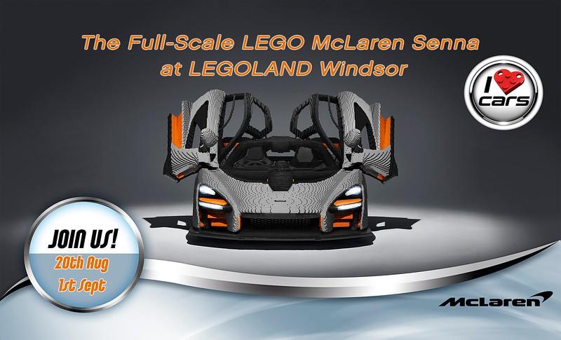 LEGOLAND Windsor McLaren