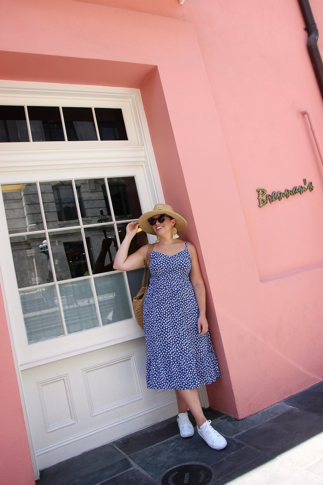 What to Wear in the French Quarter New Orleans | Old Navy Fit and Flare Cami Midi Dress | 6 Outfits You Can Actually Wear in New Orleans in the Summer | What to Wear in New Orleans in the Summer | New Orleans Packing List | Summer in New Orleans | Best Outfits to Wear in New Orleans | What I Packed for New Orleans