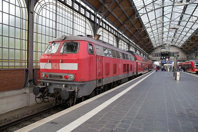 DB Regio 218 470 Lübeck