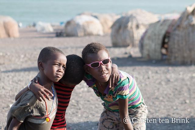 El Molo village children