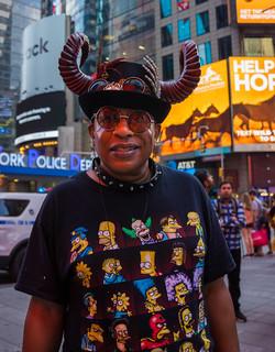 Mr. Simpson, Times Square
