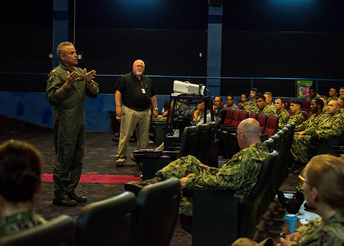 SAN DIEGO (July 18, 2019) – Expeditionary Strike Group THREE (ESG 3) hosted Shore Power 2019 at the Naval Base San Diego theater July 18.