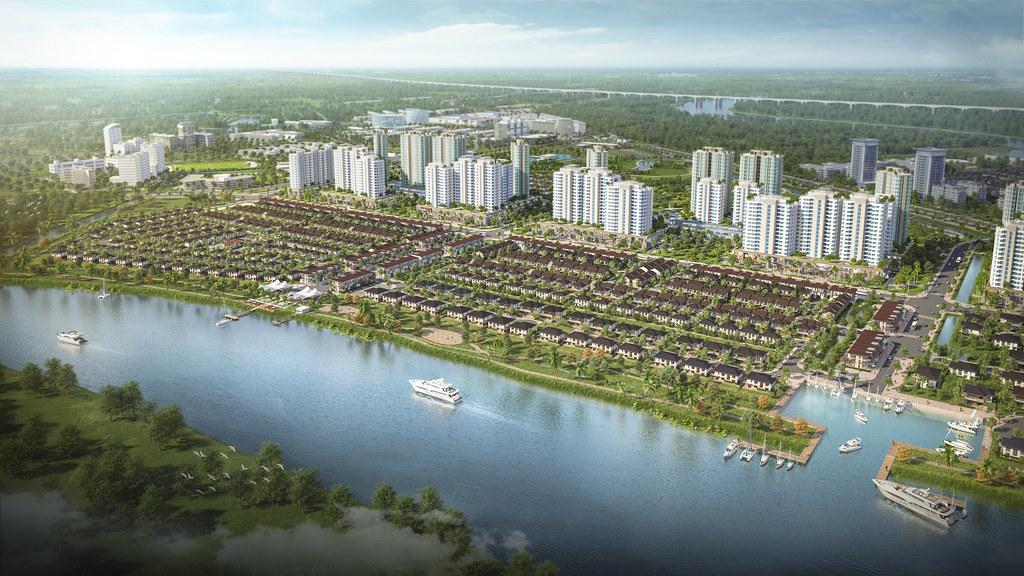 Waterpoint Nam Long Long An - Nhà phố Biệt thự và Shophouse 2