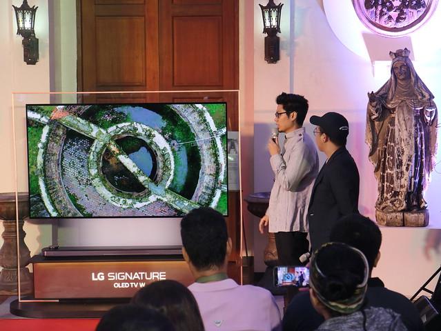 LG TV Museo De Intramuros