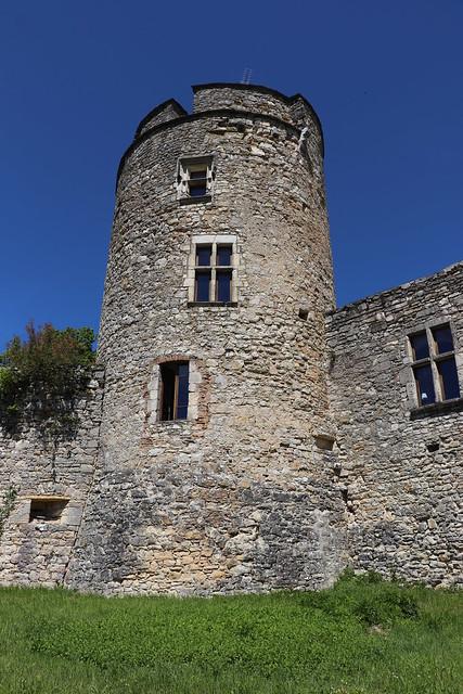 Saint-Pierre-Lafeuille - Château de Rousillon