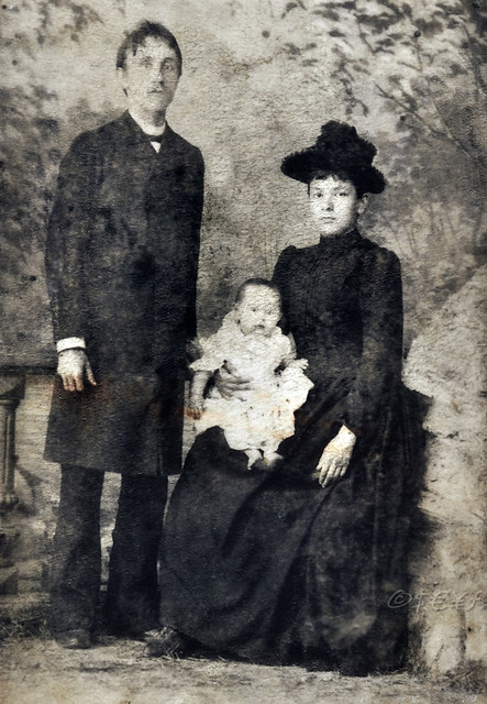 1889 - Familie in Russland vor 130 Jahren