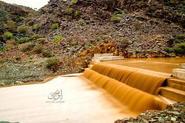 Qura Valley  stream in Jazan region southern Saudi Arabia.