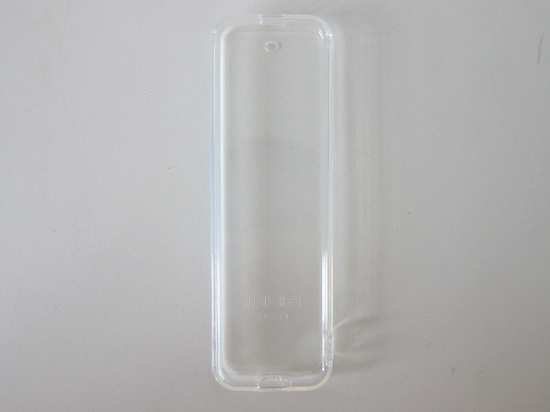 Clear TPU Case For Apple TV Remote - Front