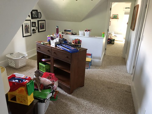 movig bedrooms and purging