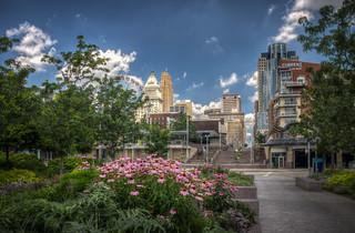 Park in Downtown Cincinnati
