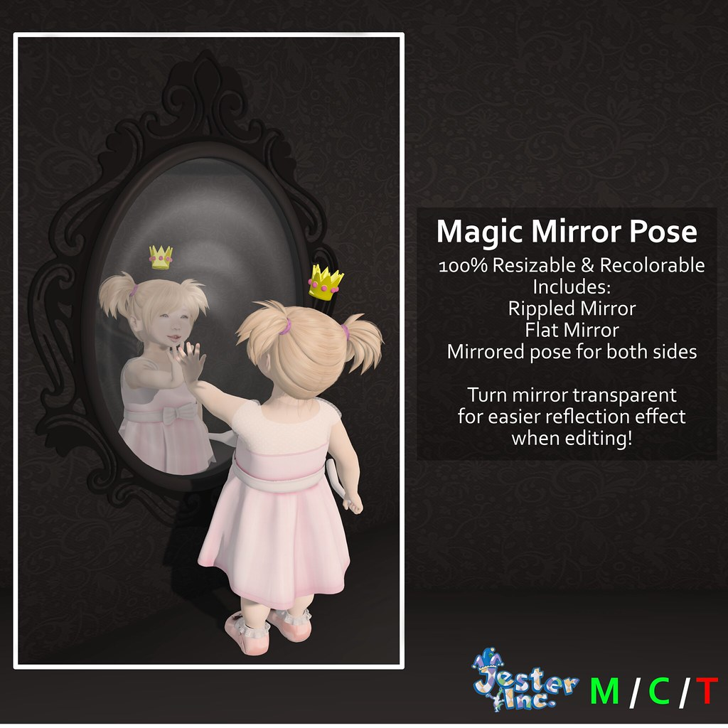Presenting the new Magic Mirror Pose from Jester Inc.