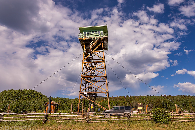 Jersey Jim Fire Lookout Tower