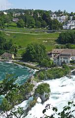 Rheinfall from Schloss Laufen