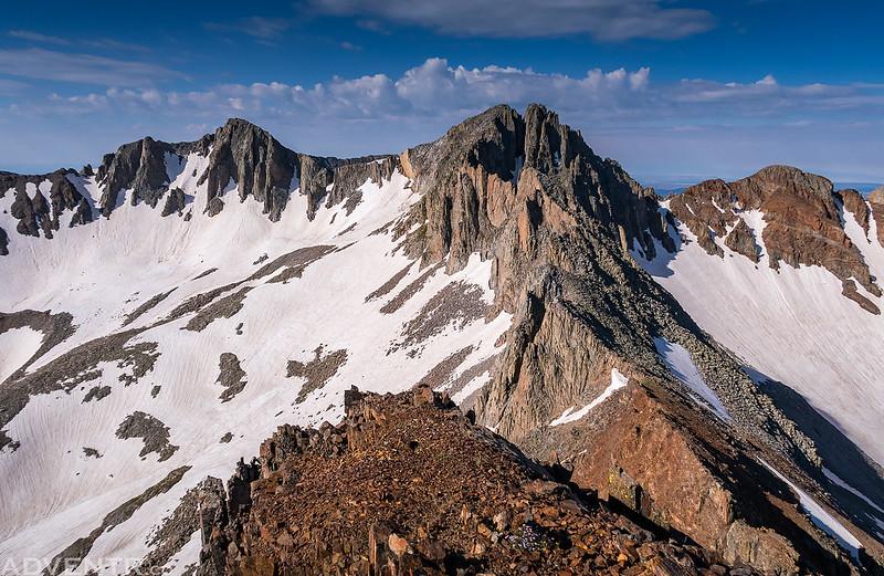 Centennial Peak Summit View