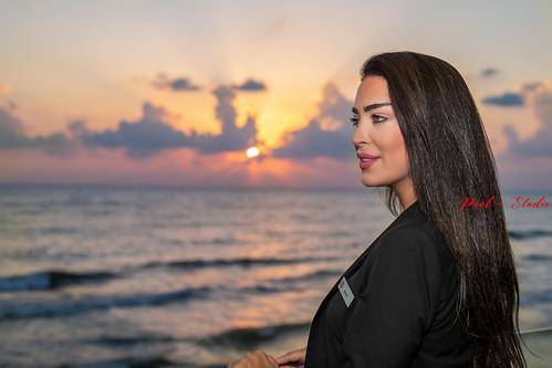 lebanon beirut model portrait beauty beautifull d850 nikon close face faces woman women girls brunette sunset sunrise dusk dawn