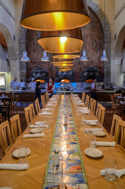 Via Napoli long table Epcot