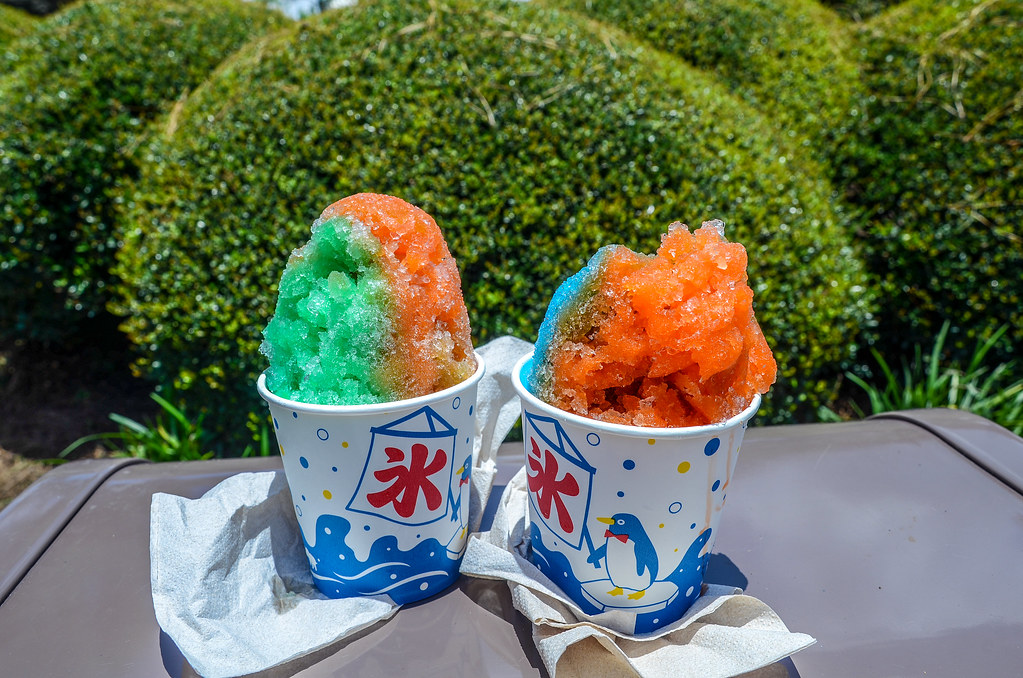 Kabuki shaved ice Epcot Japan