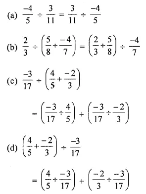 ICSE Mathematics Class 8 Solutions Chapter 1 Rational Numbers Objective Type Questions Q18