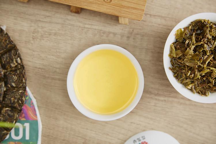 """2019 YunYuanGu """"Pin Ge 1801"""" Cake 180g Puerh Raw Tea Sheng Cha"""