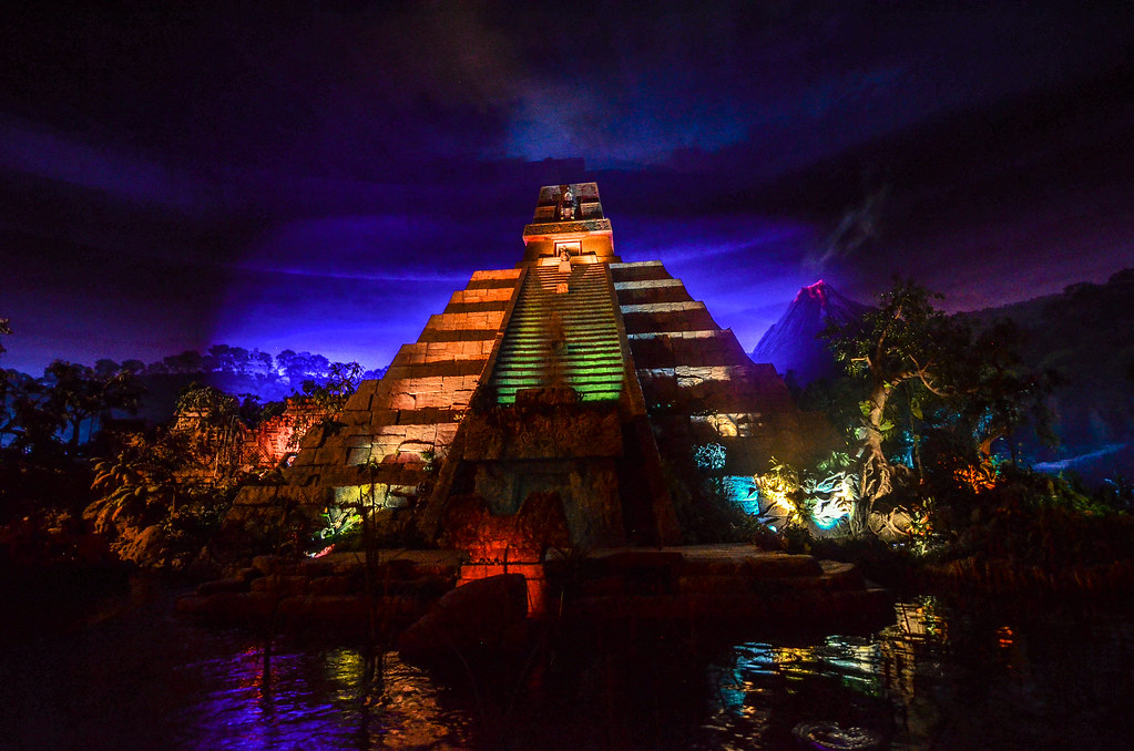 Epcot Mexico pyramid Gran Fiesta Tour