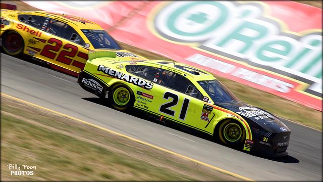 Paul Menard - #21 Wood Brothers Racing / Ford