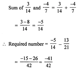 ICSE Class 8 Maths Book Solutions Free Download Pdf Chapter 1 Rational Numbers Check Your Progress Q3