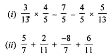 ML Aggarwal Maths for Class 8 Solutions Book Pdf Chapter 1 Rational Numbers Check Your Progress Q6