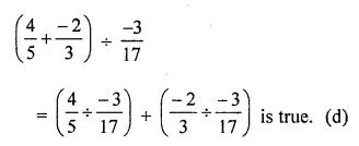 ML Aggarwal Maths for Class 8 Solutions Book Pdf Chapter 1 Rational Numbers Objective Type Questions Q18.1