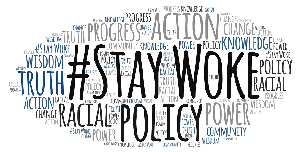 "Stay Woke | A word cloud featuring ""#Stay Woke"". This is li… 